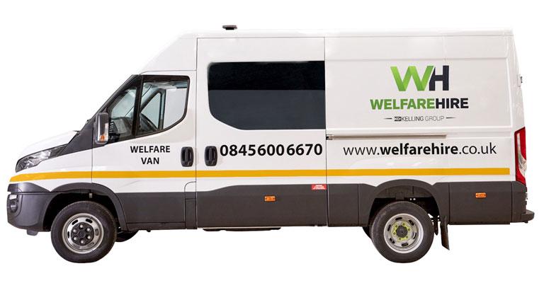 Welfare Van for hire across the UK