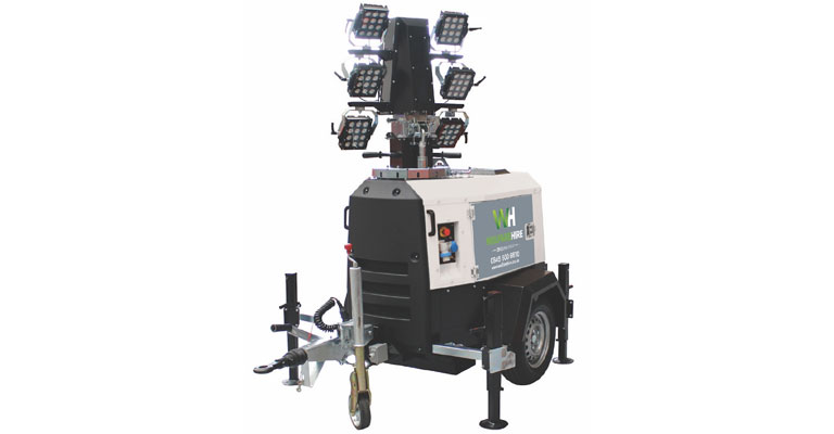 X-ECO LED lighting tower