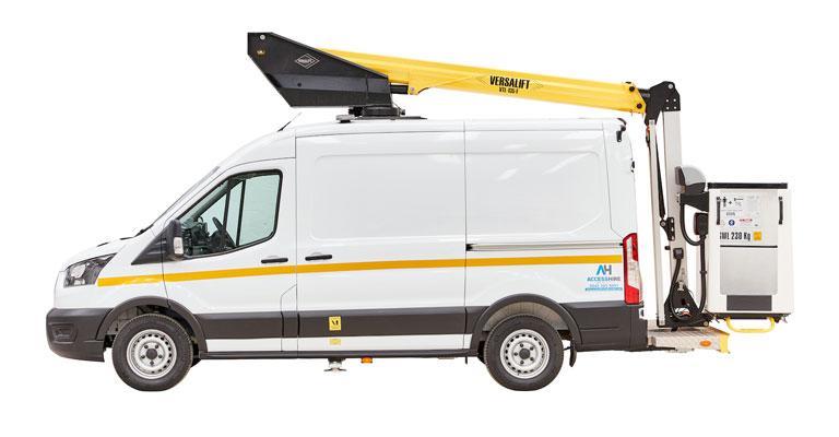3.5 Ton 13M Van Mounted Access Platform
