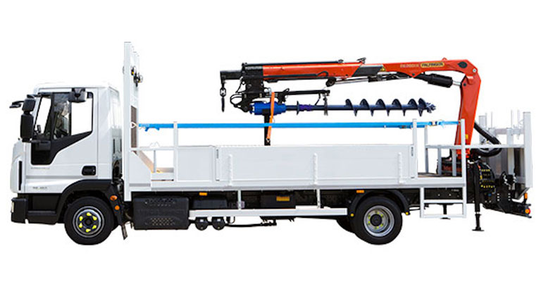 7.5 Ton Up To 18.0 Ton Pole Erection Unit