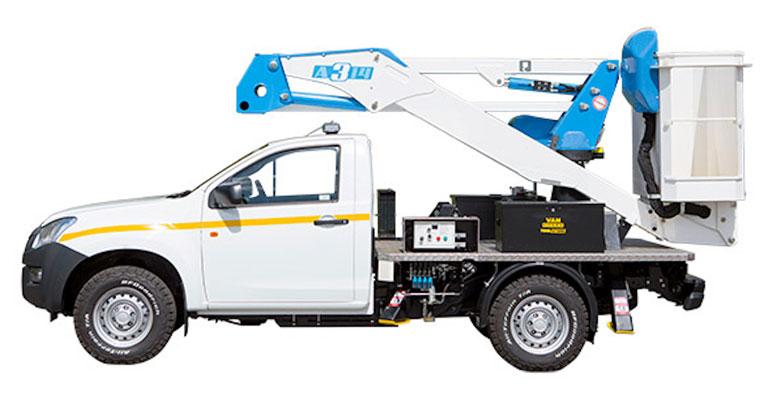 3.5 Ton 13.2M 4X4 Pick-Up Mounted Access Platform