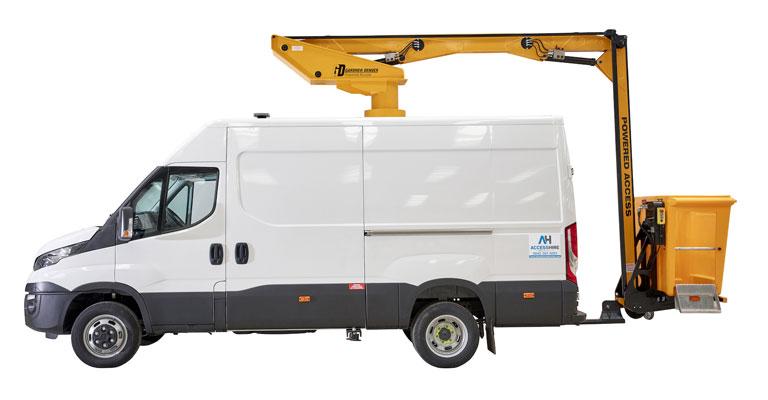 5.2 Ton 14.5M Van Mounted Access Platform