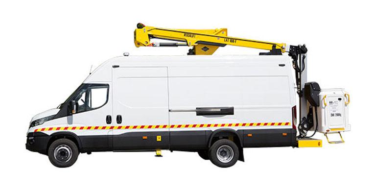 7.0 Ton 16.5M Van Mounted Access Platform