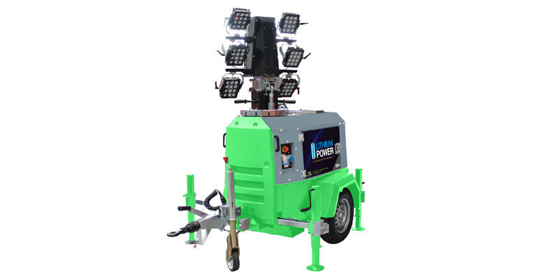 X-Eco Hybrid Lithium Mobile Lighting Tower