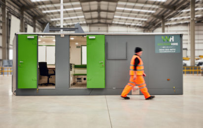 Portable Cabins - Eco10 Mobile Welfare Unit For 10 People