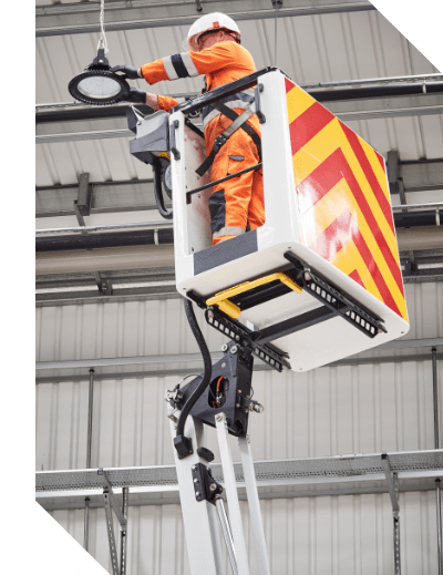 Working with height access platforms by Kelling Group